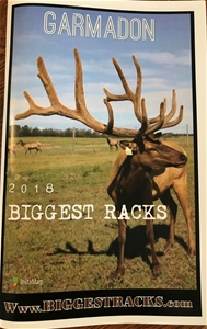 FRONT COVER OF THE 2019 BIGGEST RACKS BULL BOOK