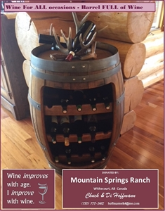 WINE FOR ALL OCCASIONS - BARREL FULL OF WINE